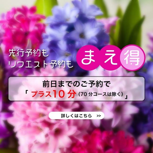 「事前予約+10分サービス」キャンペーン:テレジア東京(品川高級デリヘル)