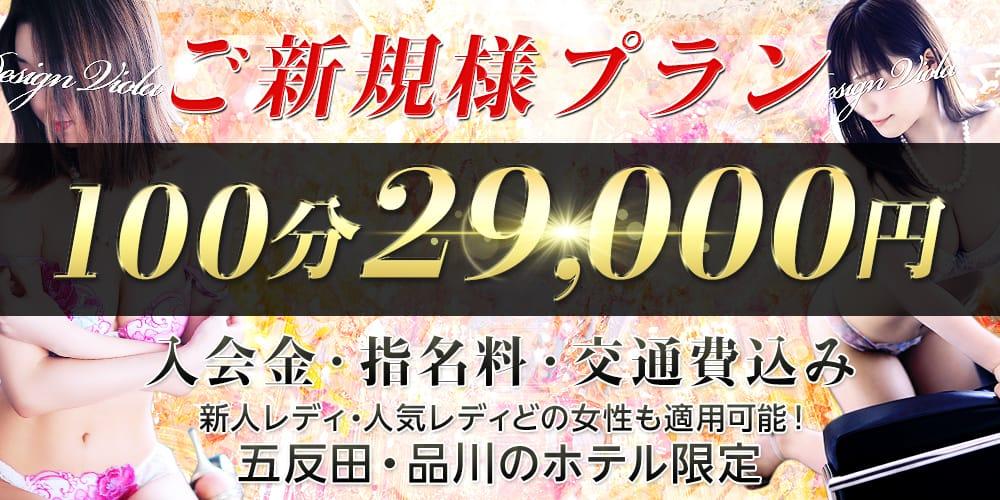 ★☆ご新規様特別プラン☆★:デザインヴィオラ東京(品川高級デリヘル)